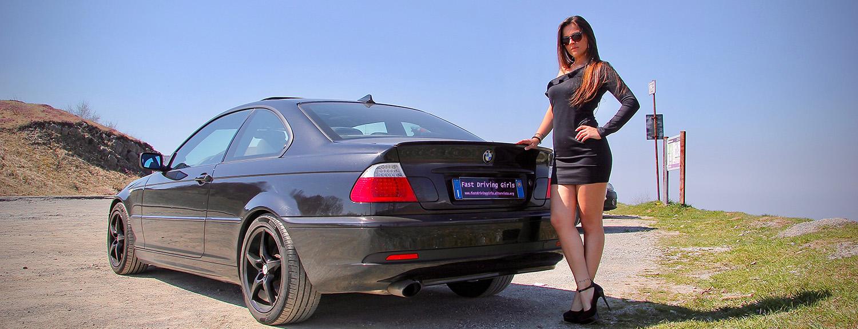 Cars and Girls: Gintarė ir BMW E46 | Dina Sergijenko | Flickr | 577x1500